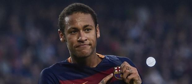 Neymar, jogador do Barcelona da Barcelona.