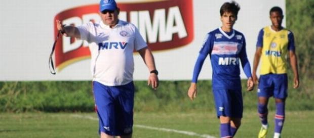 O técnico Guto Ferreira estreia no Bahia. (Foto: Divulgação Esporte Clube Bahia)