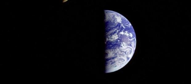 The Earth and the moon together (NASA)