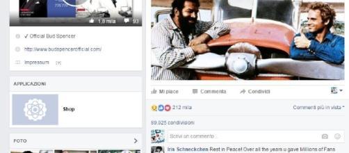 i commenti dei fan per la morte di Bud Spencer