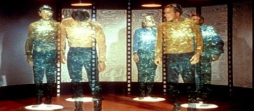 Scena tratta dal film Star Trek.