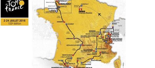 The route for the 2016 Tour de France, cycling's biggest race