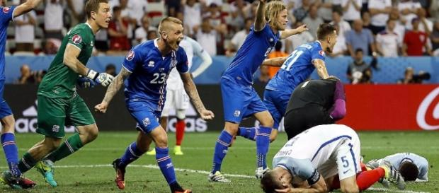Islandia dio el batacazo al eliminar a Inglaterra en octavos de final de la Eurocopa