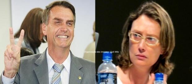 Jair Bolsonaro e Maria do Rosário