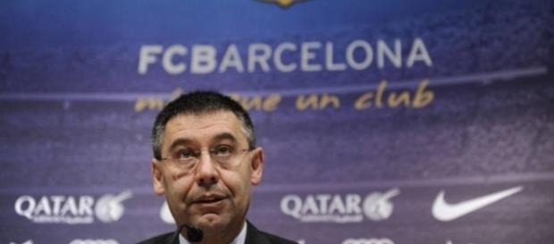 Josep Maria Bartomeu, presidente do Barcelona