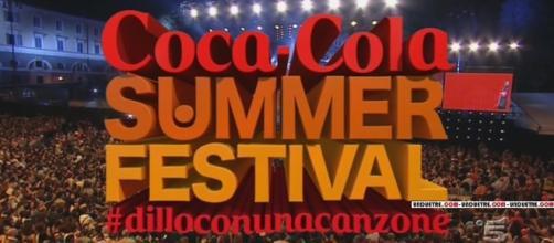 Coca Cola Summer Festival, prima serata in onda in TV il 4 luglio.