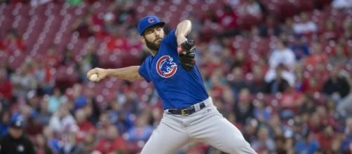 Cubs' Arrieta throwing no-hitter vs Reds through 8 innings | The ... - seattletimes.com