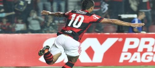 Flamengo vence o Internacional. Foto: Gilvan de Souza.