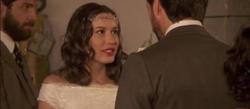 Lucas e Aurora si sposano Il Segreto