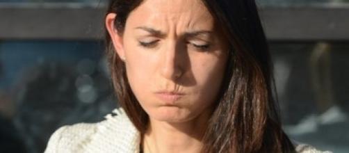 Virginia Raggi, appena eletta sindaco di Roma