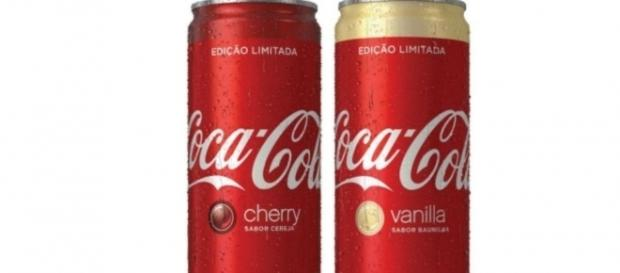 Chega ao mercado a Coca-Cola cereja e baunilha