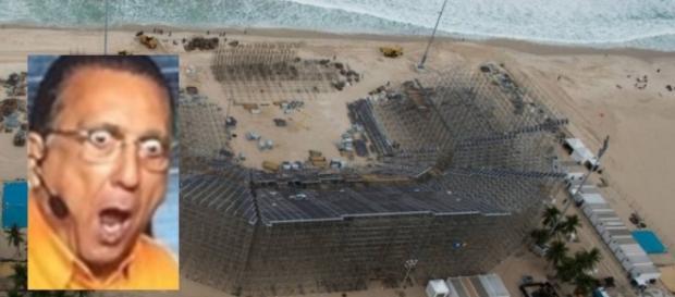Corpo esquartejado é encontrado na praia de Copacabana