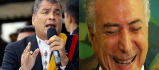Equador pode interromper relações diplomáticas