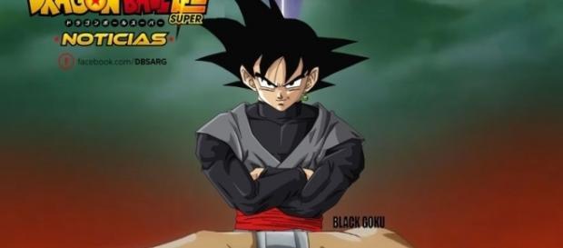 Imagen de Black Goku y su anillo del tiempo