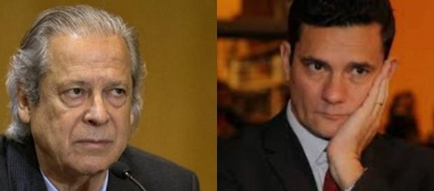 Sérgio Moro aceitou denúncia apresentada contra José Dirceu