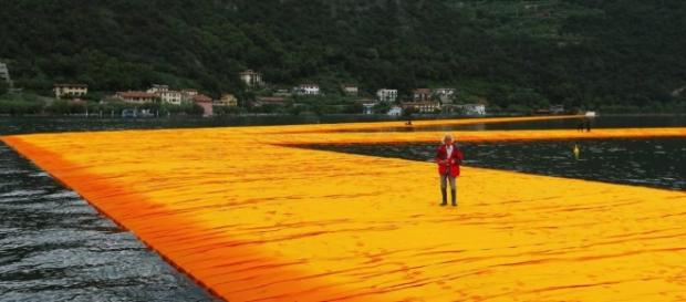 The Floating Piers di Christo: tutto pronto sul lago di Iseo - estetica-mente.com