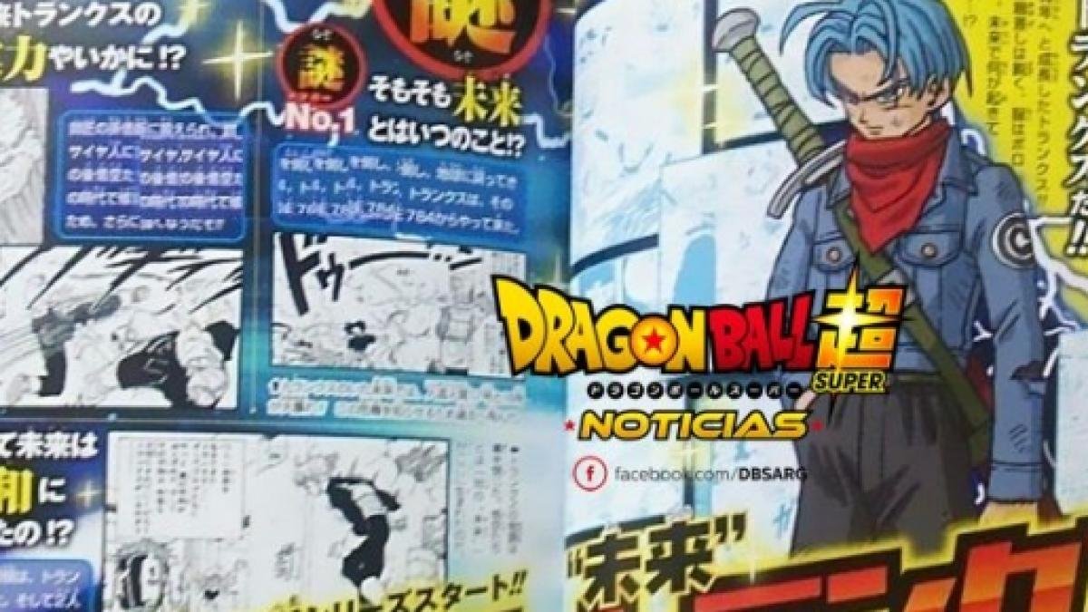 Dragon Ball Super': Scans confirman que este 'MiraiTrunks
