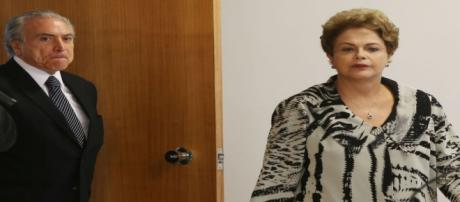 Dilma segue afastada da presidência