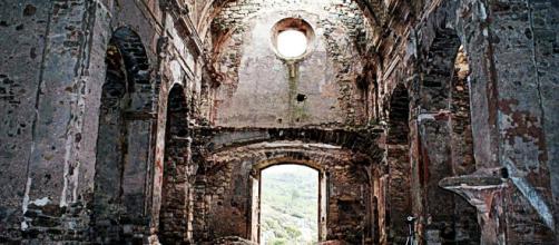 Foto del interior de la iglesia del siglo XVIII
