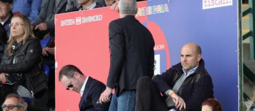 Il presidente del Cagliari Giulini