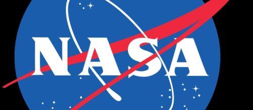 Official NASA logo courtesy of Wikimedia.