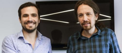 Pablo Iglesias y Alberto Garzón apuestan por una unión a largo plazo.