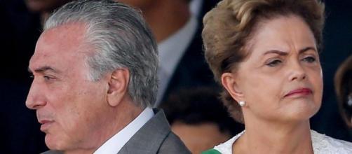 Temer herdou o cargo que era de Dilma