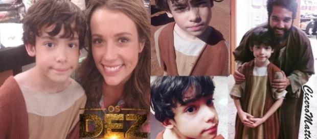 Felipe Mendes será filho de Leila e Gahiji