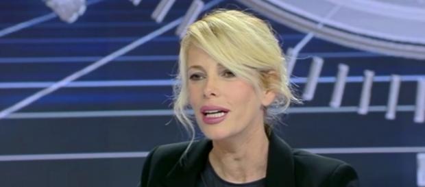 La conduttrice televisiva Alessia Marcuzzi,