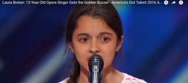 Laura Bretan, copila care a uimit România și America