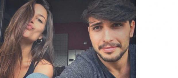 Ludovica Valli e Fabio Ferrara in viaggio verso Temptation Island 3.