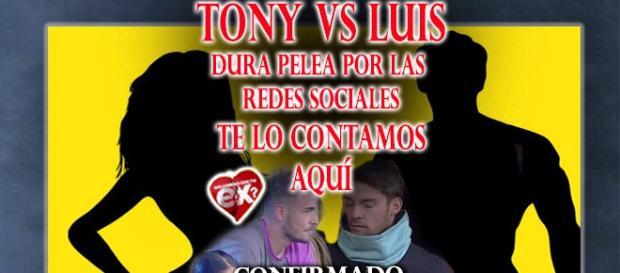 Pelea de Tony versus Luis se toma las redes