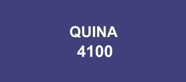 Resultado da Quina 4100 com prêmio de R$ 3 milhões