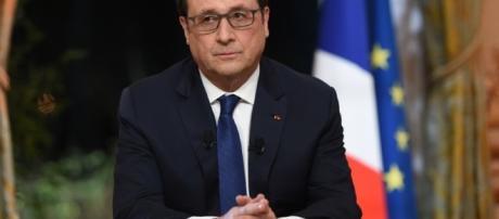 President Francois Hollande candidat