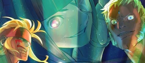 Alex, Juri y Urien, personajes claves en el universo post Street Fighter II.