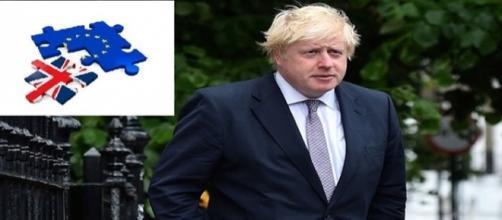 Boris Johnson partidario del Brexit.