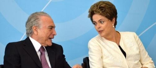 Dilma Rousseff e Michel Temer: a disputa pelo poder