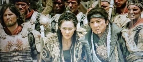 Jackie Chan in una scena de 'La battaglia degli Imperi'
