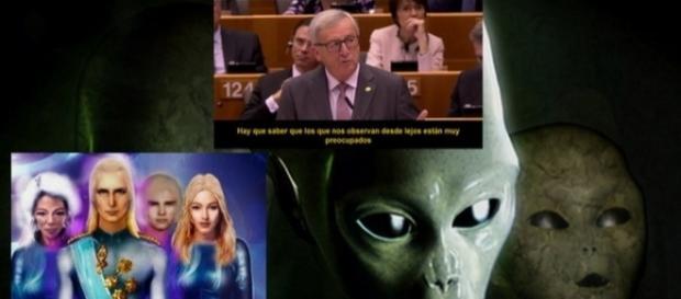 Juncker asegura comunicarse con líderes extraterrestres