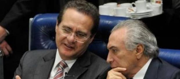 Renan esteve com Dilma Rousseff