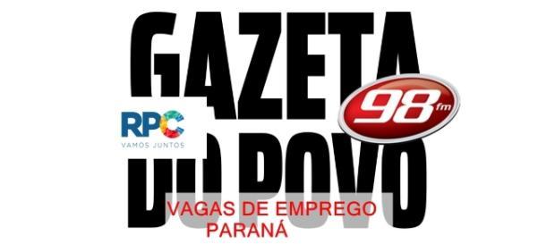 Vagas de emprego em comunicação no Paraná