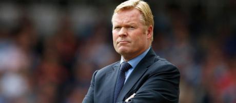 O novo treinador do Everton, Ronald Koeman