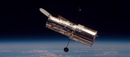 The Hubble Space Telescope. NASA, Wikimedia Commons