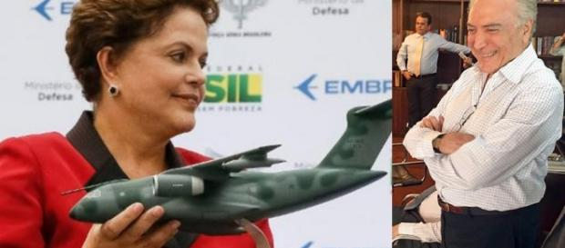 Dilma terá viagens limitadas - Foto/Montagem