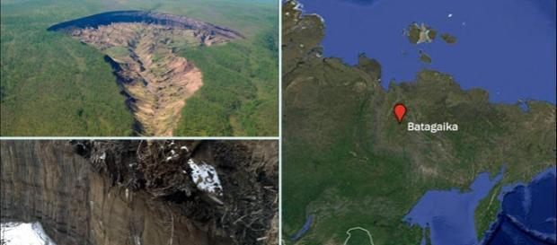 """""""Poarta iadului"""" craterul din Siberia care dovedește efectele devastatoare ale încălzirii globale"""