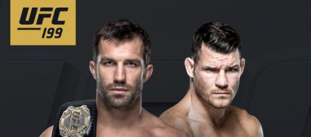 Poster oficial do UFC 199, em Los Angeles