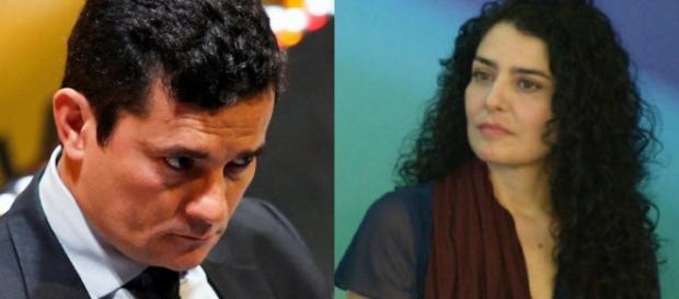 Sérgio Moro e Letícia Sabatella - Foto/Montagem