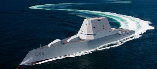 The USS Zumwalt, the most powerful warship ever made