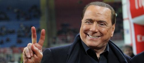 Il patron del Milan, Silvio Berlusconi