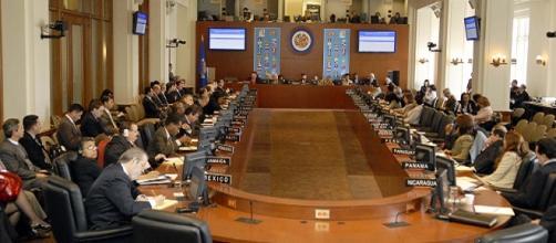 La OEA en reunión extraordinaria analizando el caso de Venezuela